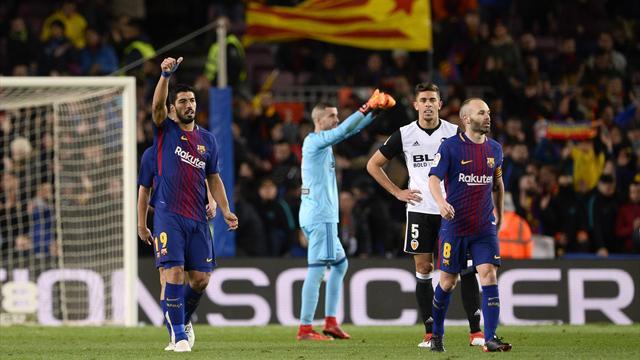 Barcelona tek golle avantajı kaptı