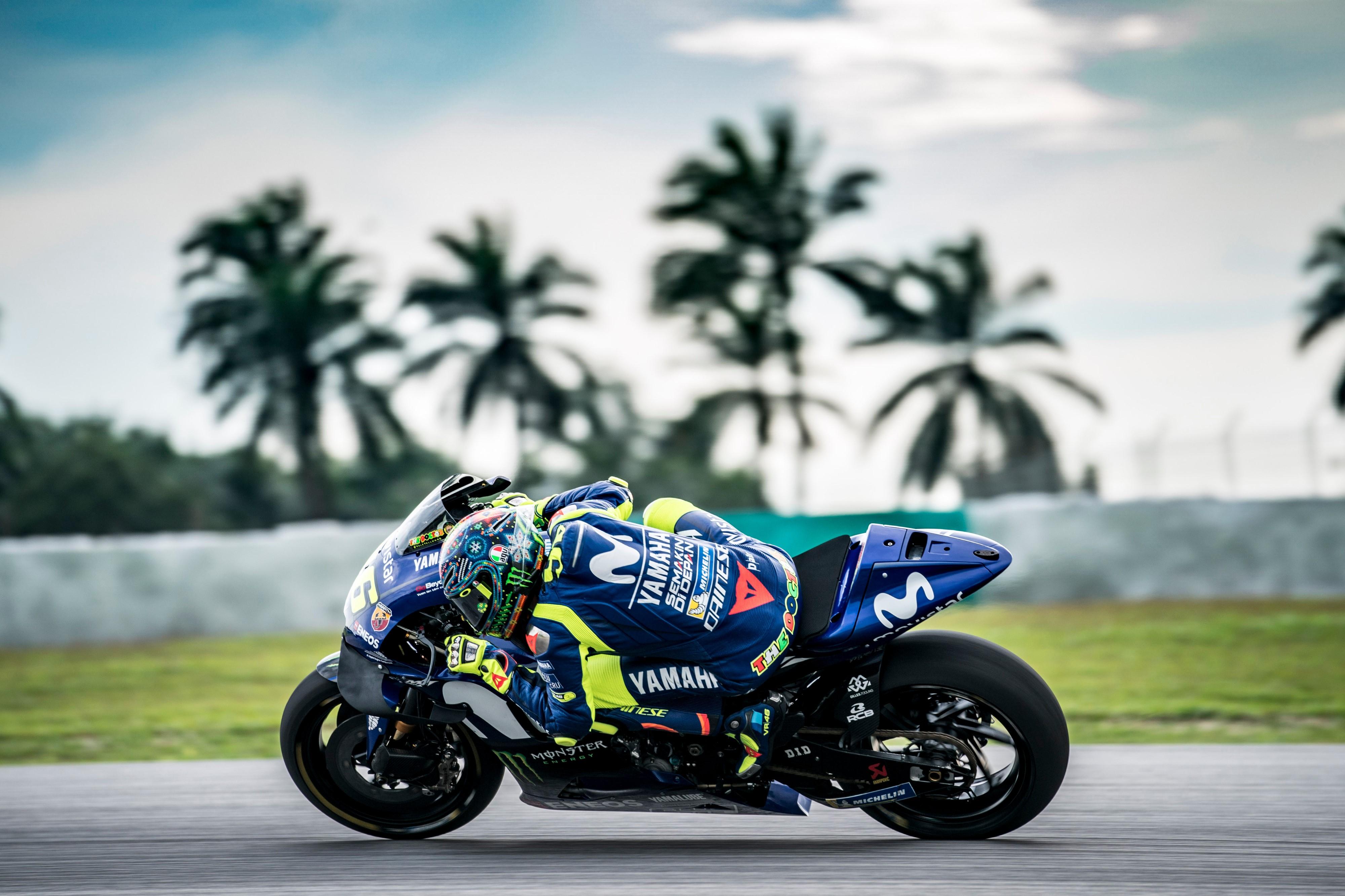 Valentino Rossi (Yamaha Factory) - Test Sepang 2018