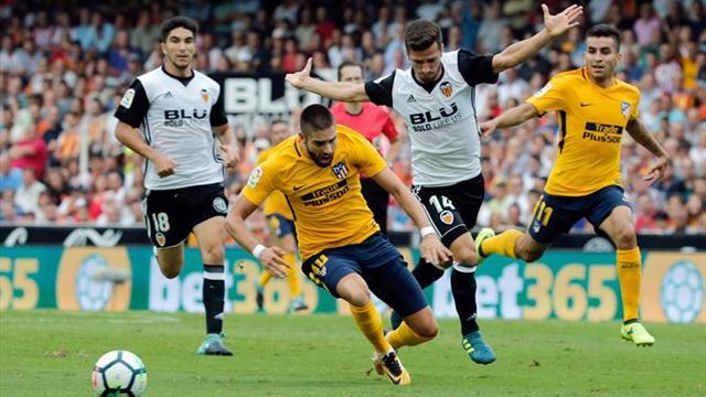 Un golazo de Correa deja vivo a Atlético Madrid