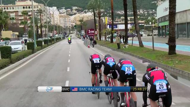 WATCH: BMC Racing finish Stage 3 at the Tour of Valencia