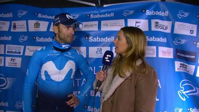 WATCH: Movistar gave team time trial a good shot, says Valverde