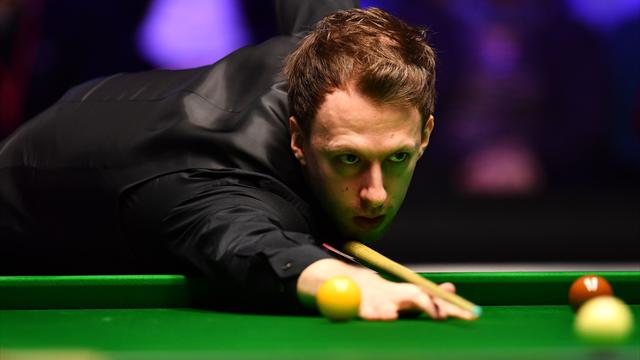 Trump edges Ding to set up semi-final with Williams