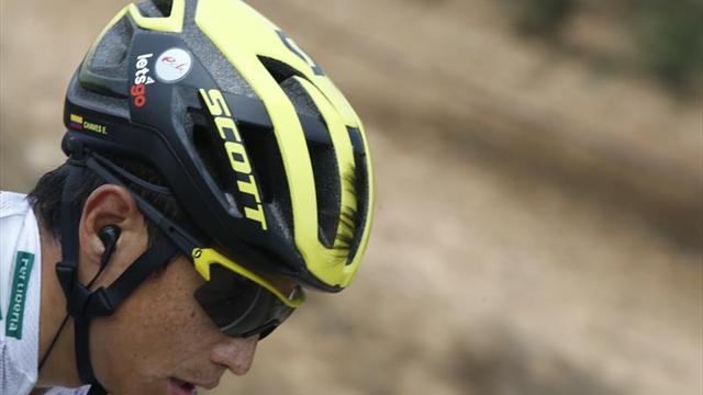 Esteban Chaves consiguió etapa y liderato en Australia