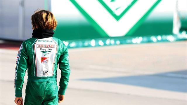 F1: il nuovo talento della Mercedes ha 12 anni ed è italiano. Il suo nome è Andrea Kimi Antonelli