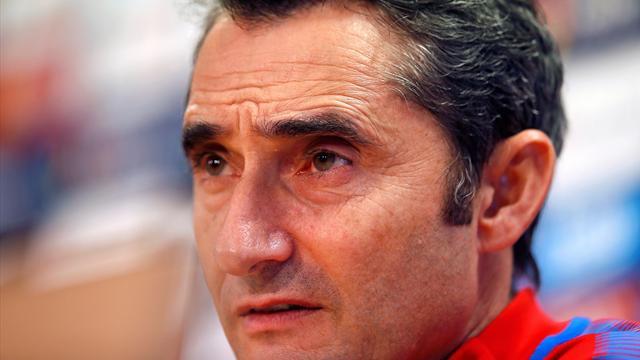 """Ernesto Valverde, sobre el momento actual de Barça: """"No creo que tengamos un bajón"""""""