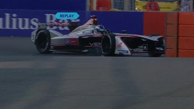 Endstation für Engel: Formel-E-Pilot landet in der Barriere