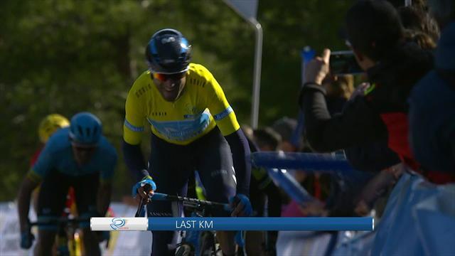 Knallharte Bergetappe: Valverde beißt sich durch