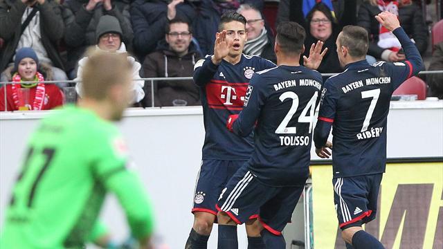 Avec un nouveau but de Ribéry, le Bayern poursuit sa série