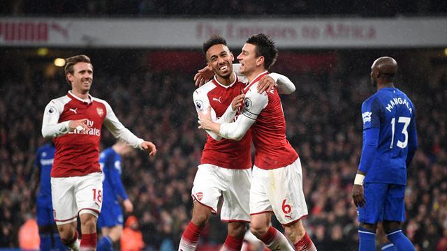 Triplé pour Ramsey et but d'Aubameyang : Arsenal a vécu une soirée parfaite