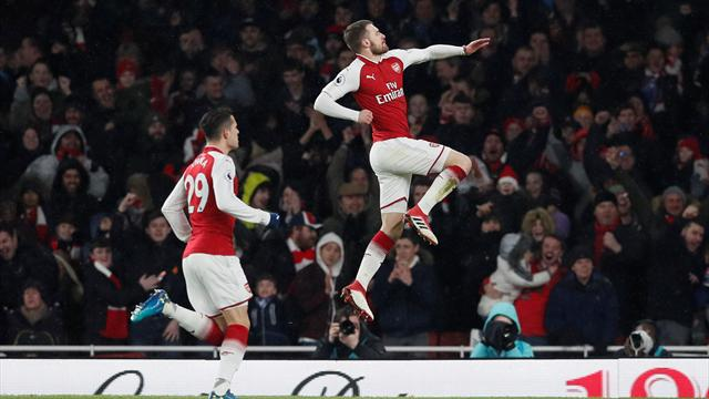 Arsenal thrash Everton 5-1 at the Emirates