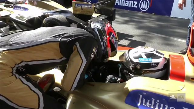 Vergne and Lotterer kiss and make up after mid-race crash