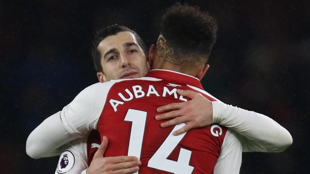Mkhitaryan relishing Aubameyang partnership at Arsenal