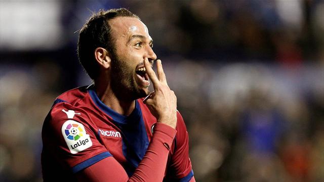 Levante, Pazzini-gol all'esordio contro il Real: