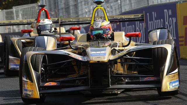 Evans seventh in Chile Formula E race