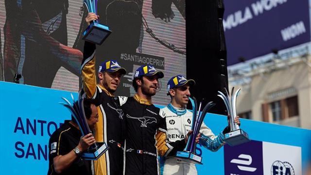 El francés Vergne desaloja del liderato al sueco Rosenqvist