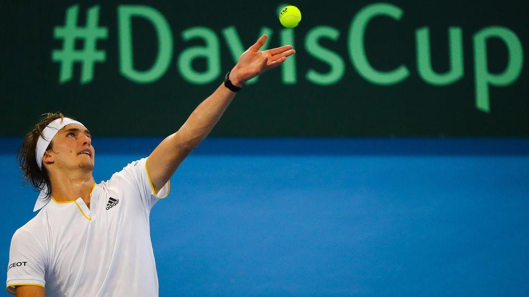 Davis Cup Viertelfinale Zwischen Spanien Und Deutschland In Valencia
