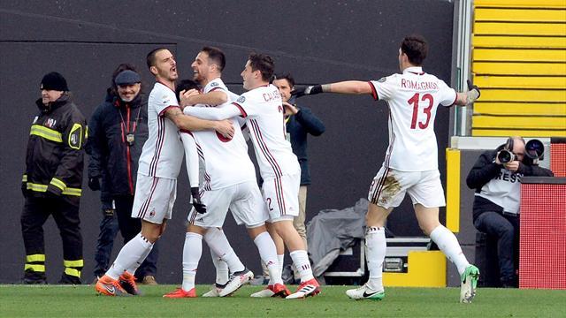 Serie A, tegola per il Milan: Higuain si infortuna contro l'Udinese