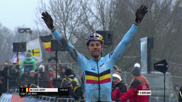 WM-Hattrick: Belgier holt Cross-Gold in Valkenburg