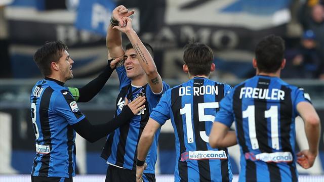 Mancini regala i 3 punti all'Atalanta, Chievo battuto 1-0