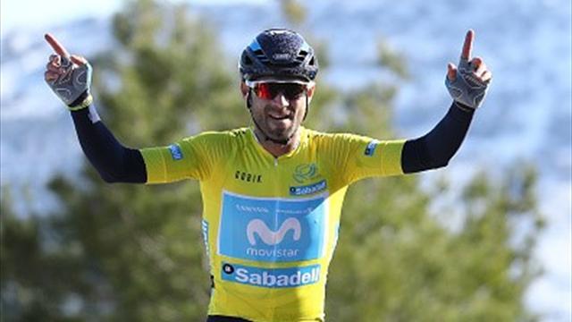 Mit Video   Valverde feiert Gesamtsieg bei Valencia-Rundfahrt