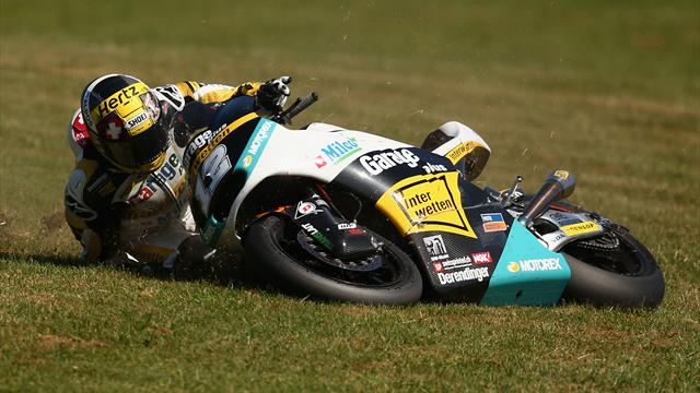 Long Moto2 career hampering Luthi in MotoGP