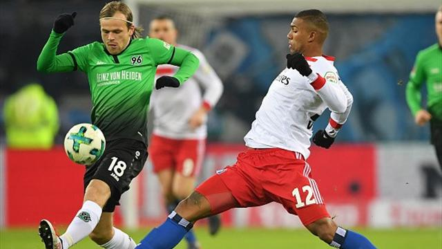 Kanonmål av Fossum - hans første i Bundesliga