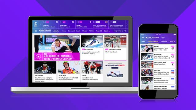 Se ALLT från OS på Eurosport Player