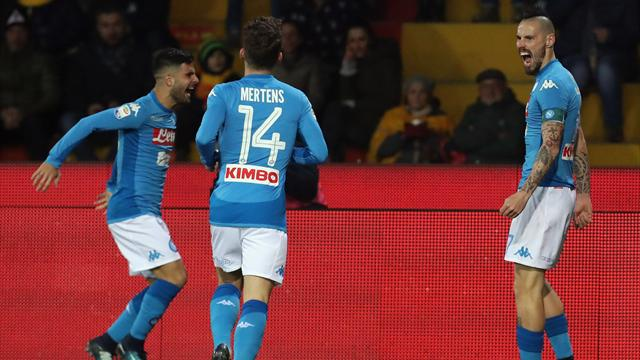 Napoli, allenamento in vista della Lazio: differenziato per Mertens, Albiol e Callejon