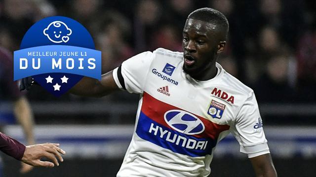 Pour vous, Ndombele est le meilleur jeune de Ligue 1 du mois de janvier