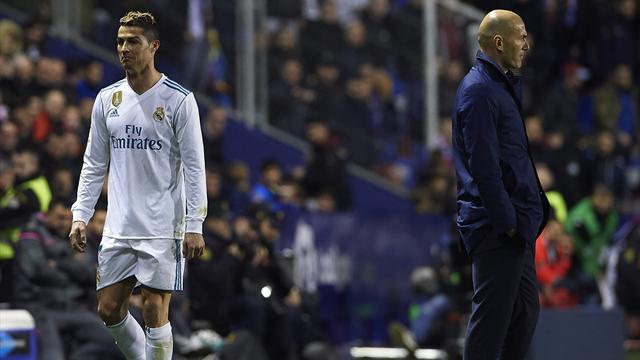 Zidane : Le triplé de Ronaldo, «de bon augure»