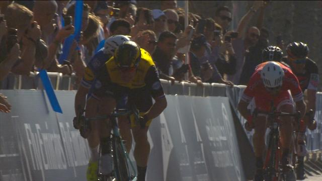 Groenewegen edges Cort in photo finish on Stage 1