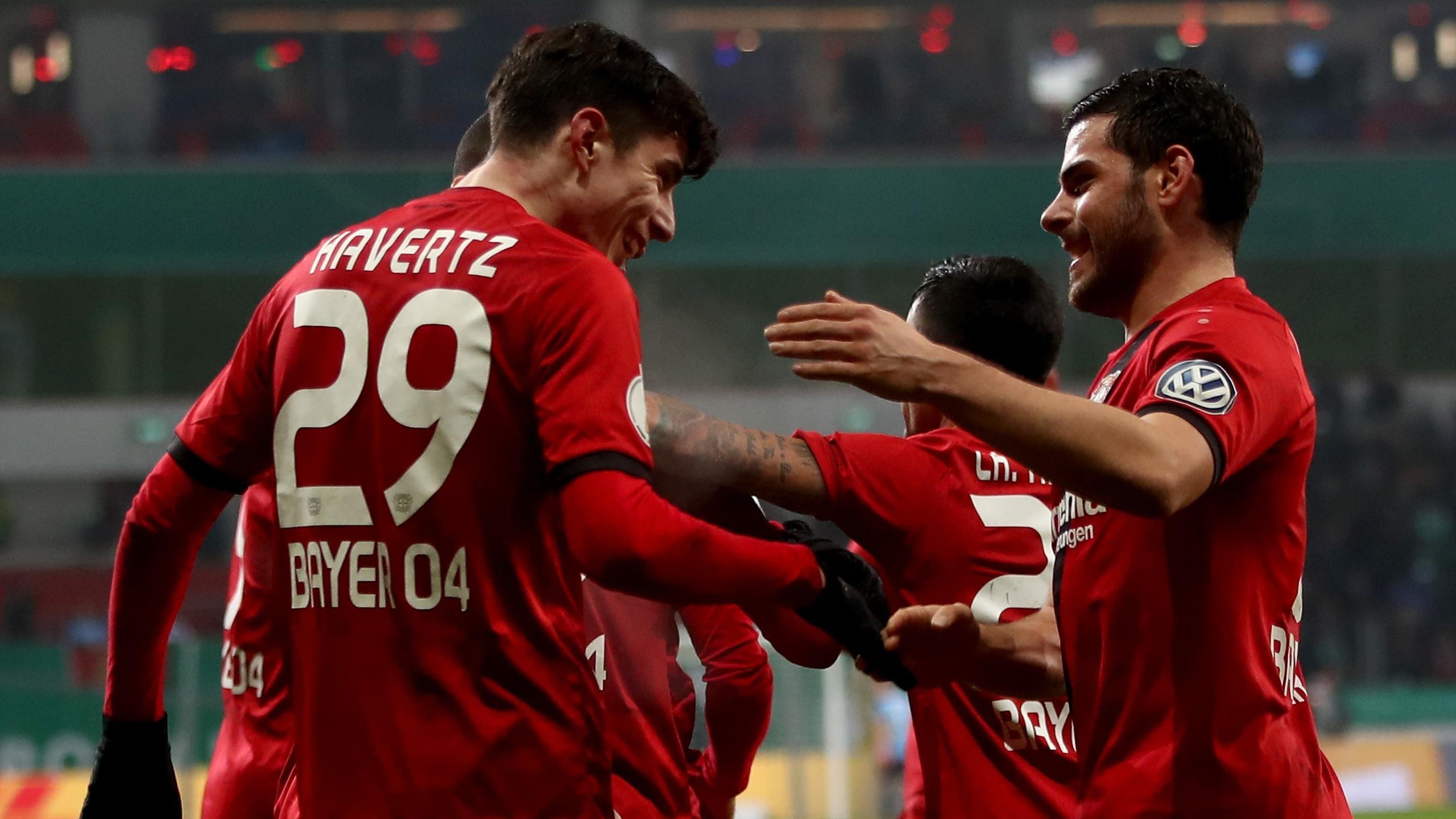 Leverkusen Bremen Dfb Pokal