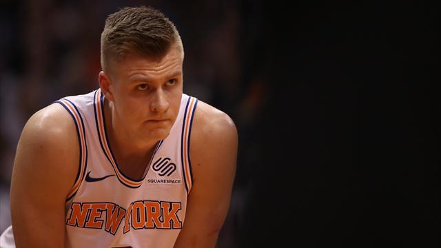 Le pire pour les Knicks : fin de saison pour Porzingis, blessé gravement au genou