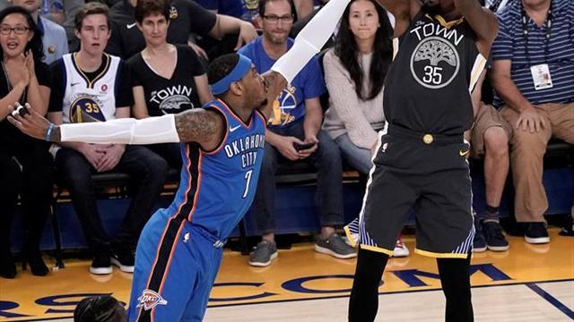 El Thunder logra victoria ante los Warriors
