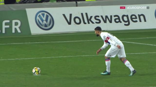 Grâce à Fekir, l'OL a pris l'avantage… sur penalty