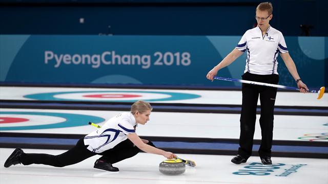 Suomalaisten olympiaurakka alkoi curling-tappiolla