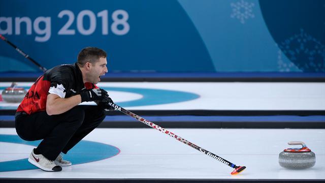 Le curling ouvre le bal