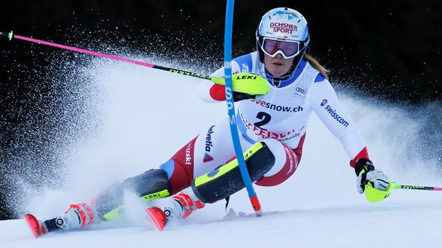 Swiss skier Meillard suffers season-ending injury after training crash