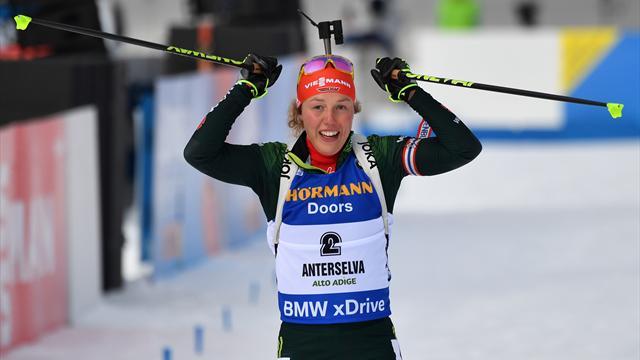 Dahlmeier'in ilk olimpiyat madalyası altın oldu
