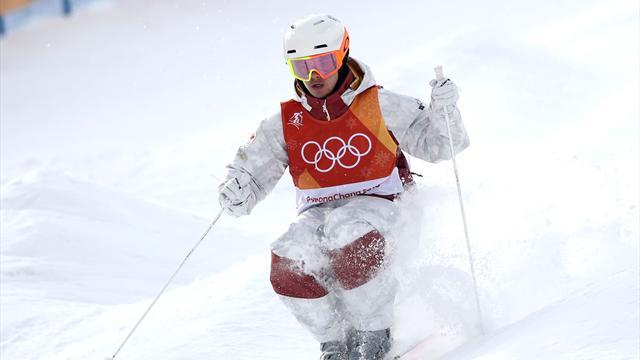 Canada's Kingsbury tops moguls qualifying