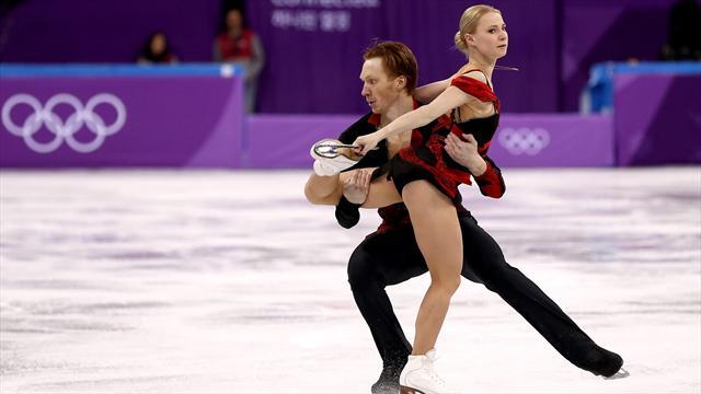 Le couple russe brille mais le Canada prend le meilleur départ