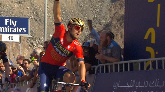 Colbrelli edges to victory on gruelling Stage 4 climb