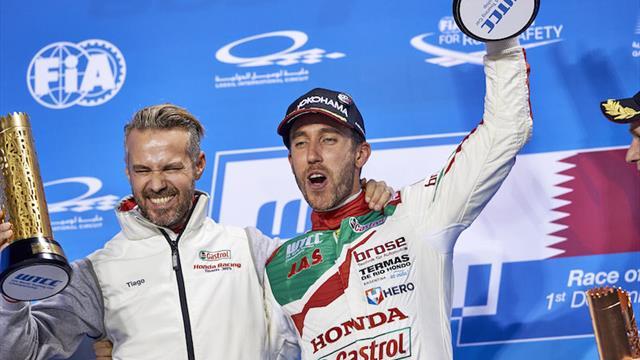 Les stars Guerrieri et Monteiro rejoignent le plateau du FIA WTCR avec Honda
