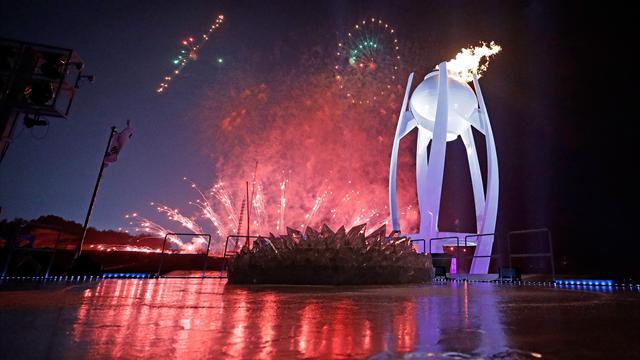 2018 Kış Olimpiyatları'na görkemli açılış