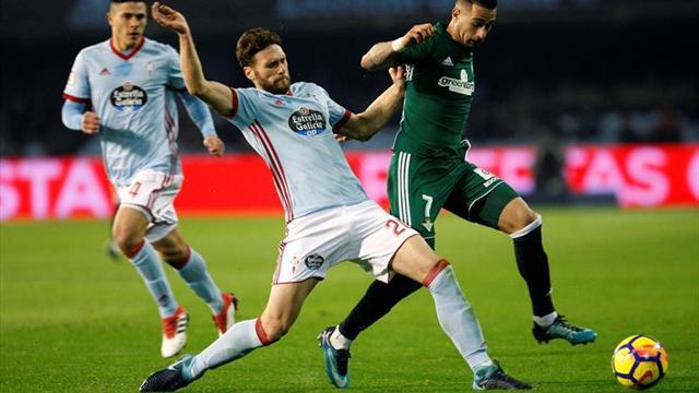 Dos goles de Maxi Gómez no le alcanzaron al Celta