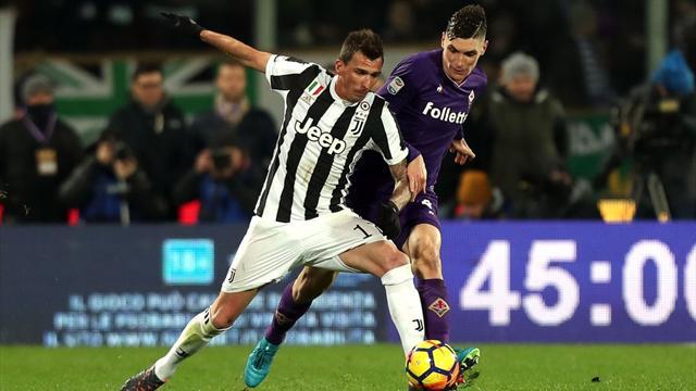 Le pagelle di Fiorentina-Juventus 0-2: Douglas vola, Simeone spento