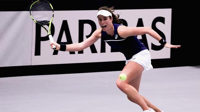 Konta and Watson secure Fed Cup progression for Great Britain