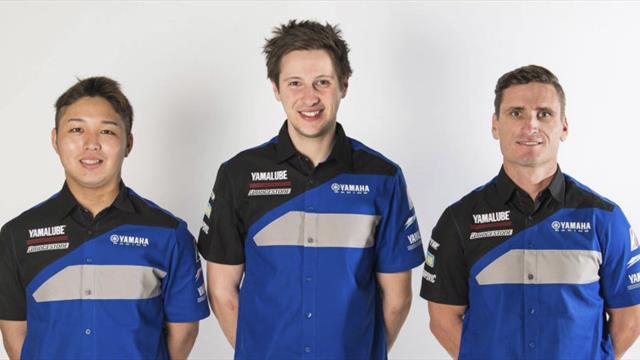 Nouveau trio pour le YART Yamaha