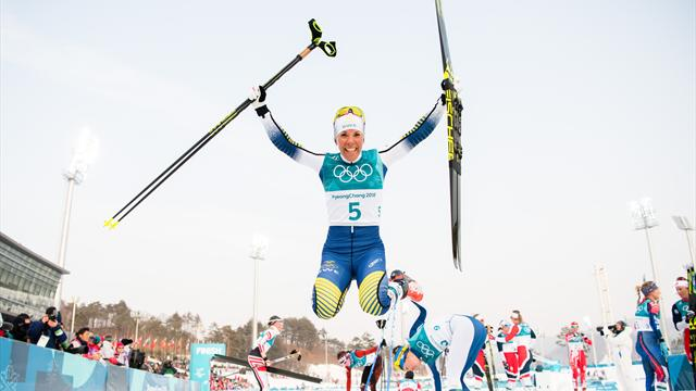 PyeongChang'da ilk altın Charlotte Kalla'nın