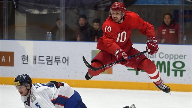 Россия разбила Южную Корею, почему-то согласилась на овертаймы и продула. Хорошо, что это товарка